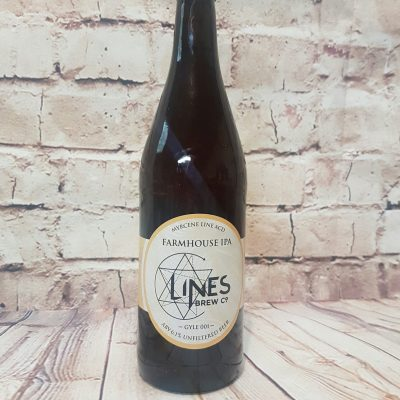 Lines Brew Co Farmhouse IPA