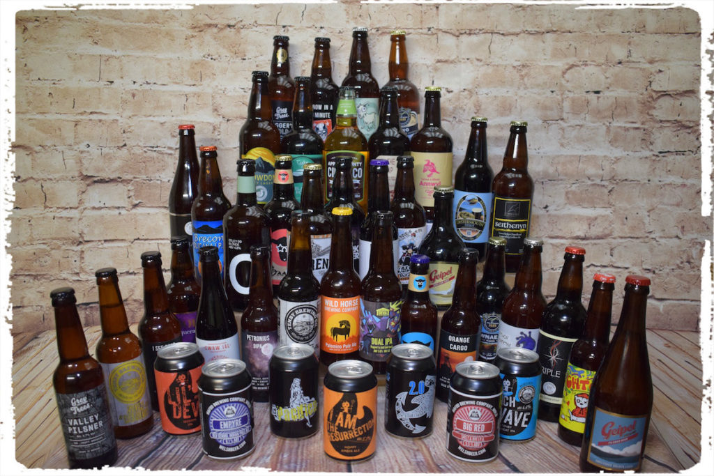 Welsh Beer Selection